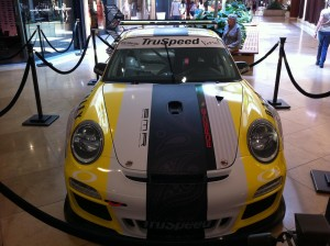 TruSpeed Motorsports Car at South Coast Plaza