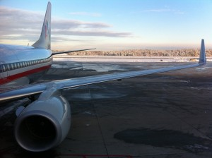 American Airlines 737 at RDU