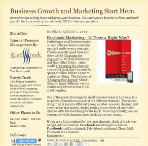 Blog Your Biz – 5 Tips