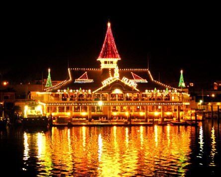 Newport Beach, California Named #2 U.S. Destination for Holiday Lights by Yahoo! Travel