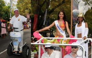 The Carnival 2012 in Seychelles promoted sustainable tourism