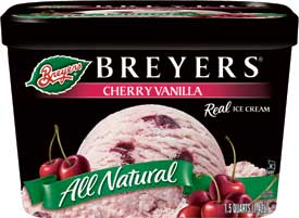 The Former Favorite Dessert - Breyer's Cherry Vanilla - Now Gone