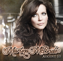 Martina McBride, Earth, Wind & Fire and Heart to Perform as Part of the Summer Concert Series at the Pacific Amphitheatre at the 2012 OC Fair