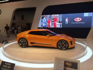 Crazy Kia Sports Car © Copyright 2014 Scott Bourquin