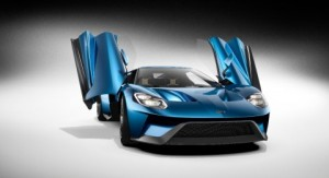 Ford GT with Swing Up Doors