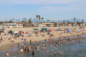 The Heat Hits SoCal and SoCal Hits The Beach