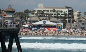 WSL VIP Tent Vans US Open Of Surfing - Copyright 2017 Scott Bourquin