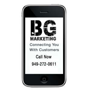 smart phone bg marketing