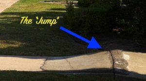 Accident Attorney gets Sidewalk Repaired
