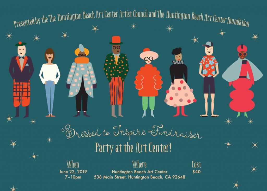 Art Center Fundraiser postcard