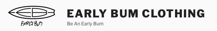 Early Bum ® Logo